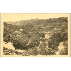 carte postale ancienne 43 BRIOUDE. Le Moulin