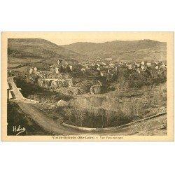 carte postale ancienne 43 BRIOUDE. Vue Panoramique
