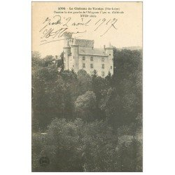 carte postale ancienne 43 CHATEAU DE TORSIAC 1917