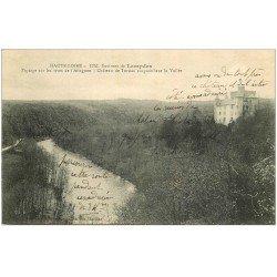 carte postale ancienne 43 CHATEAU DE TORSIAC rives de l'Allagon 1917