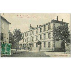 carte postale ancienne 09 SAINT-GIRONS. Le Collège 1912