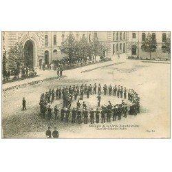 carte postale ancienne 75 PARIS. Musique de la Garde Républicaine Chef Parès