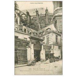 carte postale ancienne PARIS 01. Hôtel de Royaumont 4 Rue du Jour