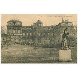 carte postale ancienne PARIS 03. La Mairie
