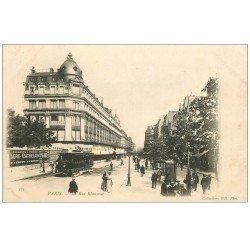 carte postale ancienne PARIS 03. Magasin Rue Réaumur vers 1900