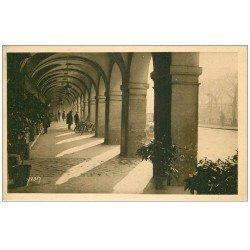 carte postale ancienne PARIS 04. Arcades Place des Vosges 1930