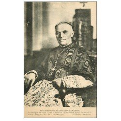 carte postale ancienne PARIS 04. Cardinal Verdier