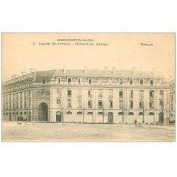 carte postale ancienne PARIS 04. Caserne des Célestins Bâtiment des ménages