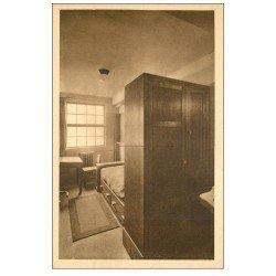 carte postale ancienne PARIS 04. Ecole Massillon Quai Célestins. Chambre