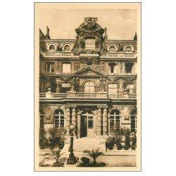 carte postale ancienne PARIS 04. Ecole Massillon Quai Célestins. Façade