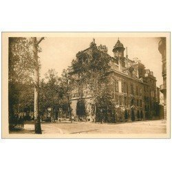 carte postale ancienne PARIS 04. Ecole Massillon Quai Célestins. Façade S.E