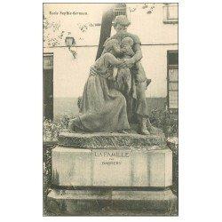 carte postale ancienne PARIS 04. Ecole Sophie-Germain. La Famille par Bardery