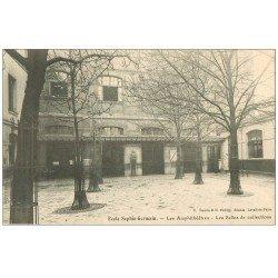 carte postale ancienne PARIS 04. Ecole Sophie-Germain. Salles de Collections