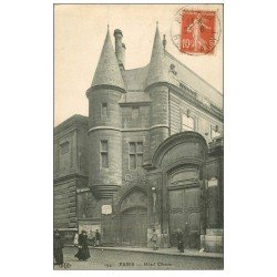 carte postale ancienne PARIS 04. Hôtel Clisson 1911