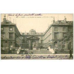 carte postale ancienne PARIS 05. Collège de France 1904