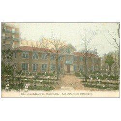 carte postale ancienne PARIS 05. Ecole de Pharmacie. Laboratoire Botanique