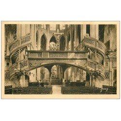 carte postale ancienne PARIS 05. Eglise Saint-Etienne-du-Mont le Jubé