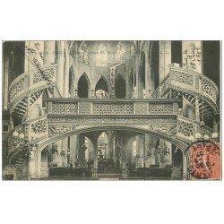 carte postale ancienne PARIS 05. Eglise Saint-Etienne-du-Mont le Jubé 1907
