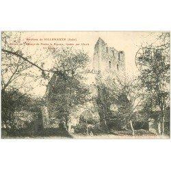 carte postale ancienne 10 ABBAYE de NESLES la Riposte par Clovis avec Enfants assis