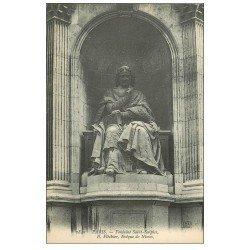 carte postale ancienne PARIS 06. Fontaine Saint-Sulpice. Fléchier Evêque de Nîmes