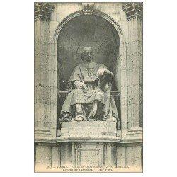 carte postale ancienne PARIS 06. Fontaine Saint-Sulpice. Massillon Evêque de Clermont