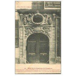 carte postale ancienne PARIS 06. Hôtel Comtesse de Fougères