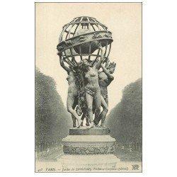 carte postale ancienne PARIS 06. Jardin Luxembourg Fontaine Carpeaux