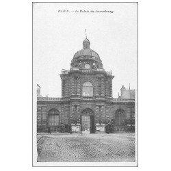 carte postale ancienne PARIS 06. Palais du Luxembourg