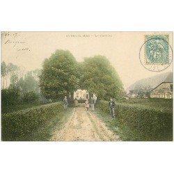 carte postale ancienne 10 AVREUIL. Le Château 1907