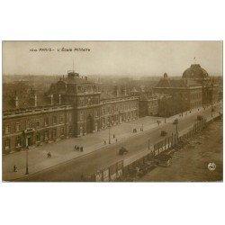 carte postale ancienne PARIS 07. Ecole Militaire