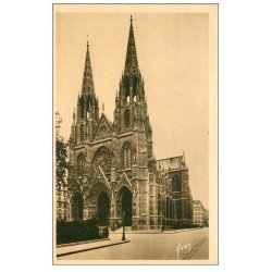 carte postale ancienne PARIS 07. Eglise Sainte-Clotilde