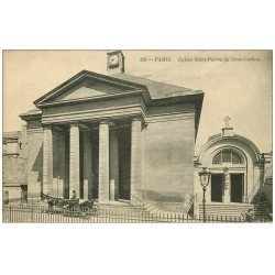 carte postale ancienne PARIS 07. Eglise Saint-Pierre du Gros Caillou 1933