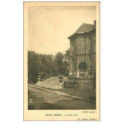 carte postale ancienne PARIS 07. Hôtel Biron Musée Rodin