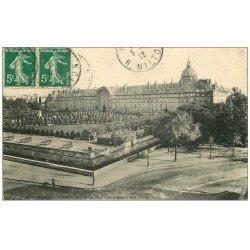 carte postale ancienne PARIS 07. Hôtel des Invalides 1912