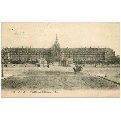 carte postale ancienne PARIS 07. Hôtel des Invalides 1920