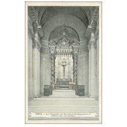 carte postale ancienne PARIS 07. Hôtel des Invalides Chapelle Napoléon Ier. Chocolat de la Havane