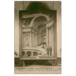 carte postale ancienne PARIS 07. Hôtel des Invalides Tableau Tombeau Napoléon Ier
