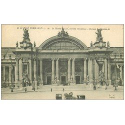 carte postale ancienne PARIS 08. Grand Palais Avenue Alexandre III 1917