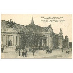 carte postale ancienne PARIS 08. Grand Palais Exposition de 1900