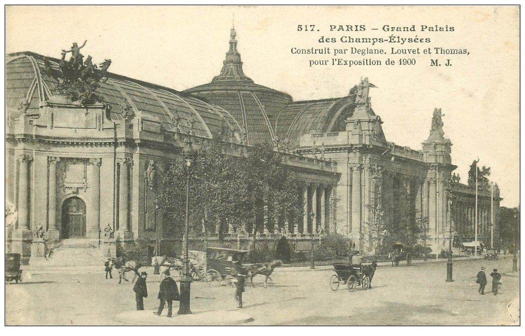 Paris 08 grand palais exposition de 1900 - Exposition grand palais paris ...