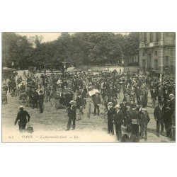 carte postale ancienne PARIS 08. L'Automobile-Club vers 1900