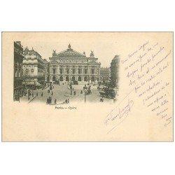 carte postale ancienne PARIS 09. L'Opéra 1903