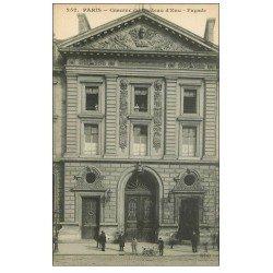 carte postale ancienne PARIS 10. Caserne du Château d'Eau