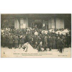 carte postale ancienne PARIS 12. Arrivée des Reines Gare de Lyon Fêtes Mi-Carême