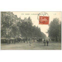 carte postale ancienne PARIS 12. Boulevard de Reuilly 1908