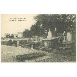 carte postale ancienne PARIS 12. Cimetière de Picpus Tombeau de Montalembert
