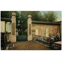 carte postale ancienne PARIS 12. Cimetière Picpus Tombe de Lafayette