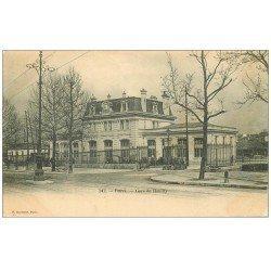 carte postale ancienne PARIS 12. Gare de Reuilly vers 1900