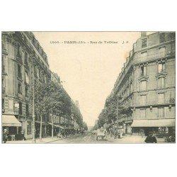 carte postale ancienne PARIS 13. Rue de Tolbiac 1923