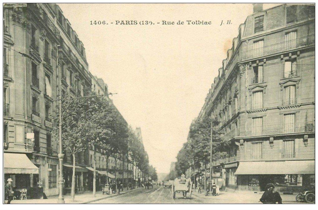 paris 13 rue de tolbiac 1923. Black Bedroom Furniture Sets. Home Design Ideas